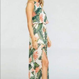 🌺 Show Me Your Mumu • Heather Halter Dress